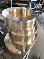 QAL9-4耐磨车光铝青铜套 零部件青铜套