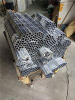 6063T5国标空心仪表用铝管 车加工铝管