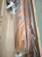 T2薄壁小口径紫铜管 精密铜管数控切割
