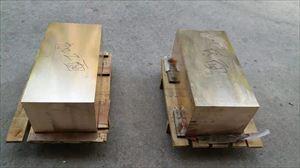 C17200高硬度模具铍铜板 中厚铍铜板
