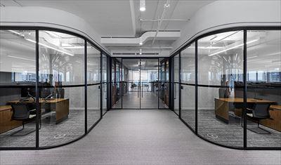 宏鈺堂推薦1200平大型辦公室裝修案例