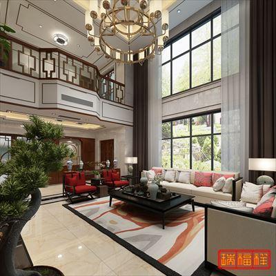 新中式風格別墅裝修設計