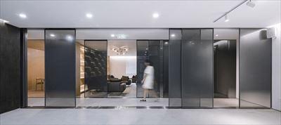 宏钰堂装饰分享开放私密共存的办公室装修方