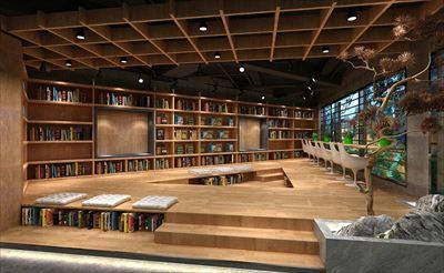 凯里-悦里文化书店空间设计