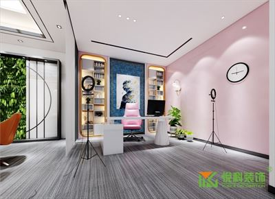 广州装修公司丨摩塔生物科技办公室装修设计