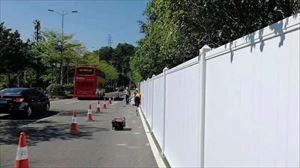 水马 PVC围挡 钢围挡 铁马护栏 基坑护栏等