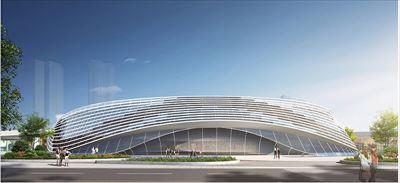 洛阳体育公园幕墙深化项目
