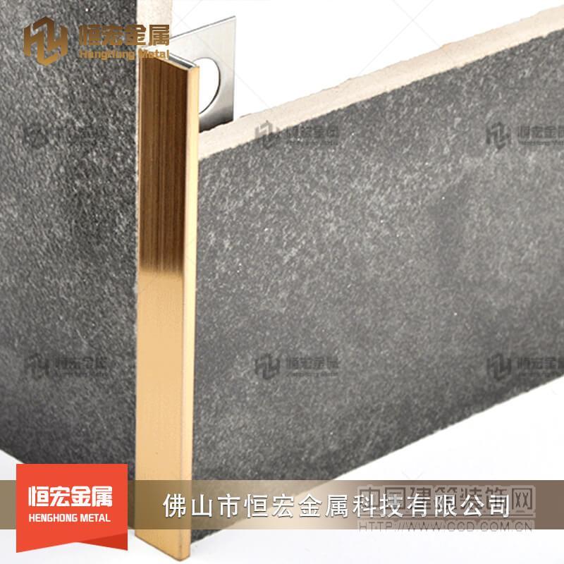 不锈钢u型槽 装饰线条批发 金属包边条背景墙