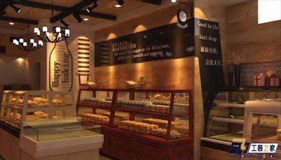 蘭州時尚蛋糕店裝修設計案例
