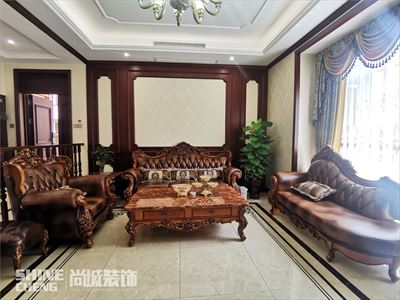 泰安鲁商国际社区280平双拼别墅美式风格