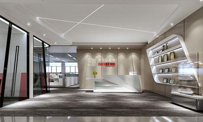 广州红帆电脑科技有限公司办公室装修设计