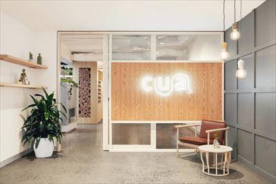 咸阳金融理财公司办公室装修设计案例