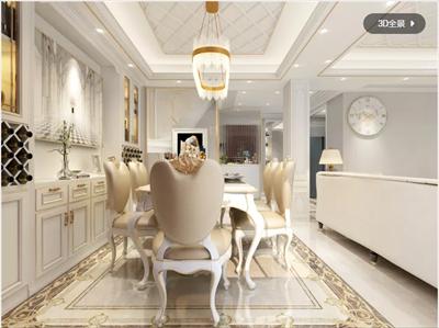 160平欧式四居室叠墅设计 上海别墅设计