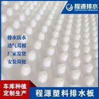 20厚车库塑料凹凸疏水板2.5公分蓄水板