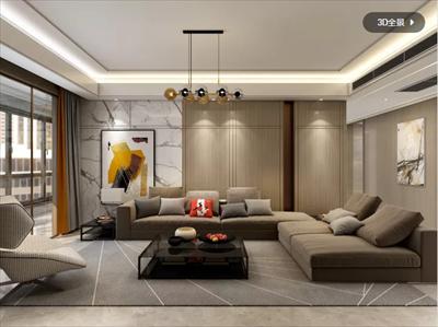 上海大平层设计案例 上海别墅装修设计