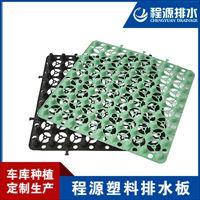 30厚塑料凹凸疏水板、绿化种草透水板厂家