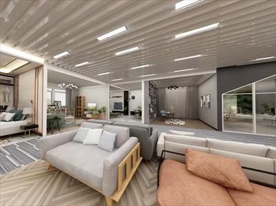 800平展厅装修设计案例