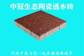 广西透水砖厂家|55厚吸水透水砖价格6