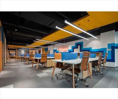 上海360平科技公司办公室设计