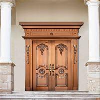 优质铜门双开门定制