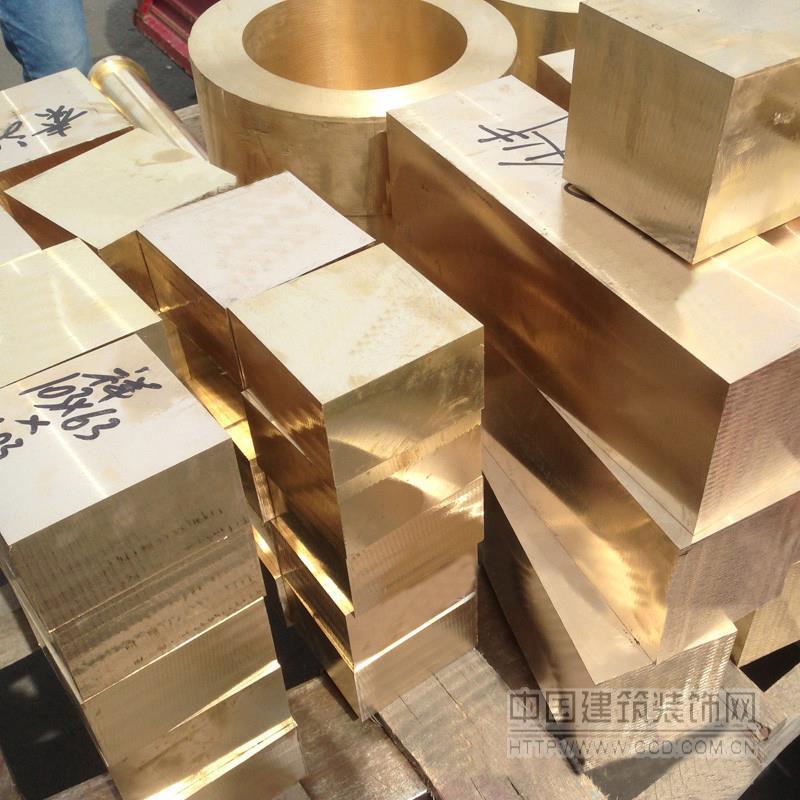 H59中厚雕刻黄铜板制锁模具黄铜板