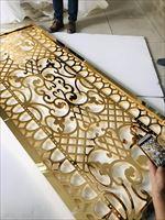 众钰不锈钢装饰屏风-杭州专业不锈钢制品定做厂家