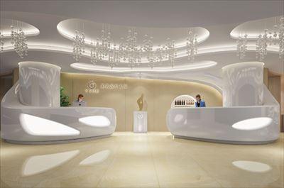 西安時尚美容整形醫院裝修設計圖
