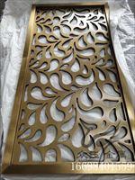 众钰不锈钢屏风-别墅装饰屏风不锈钢制品定做厂家