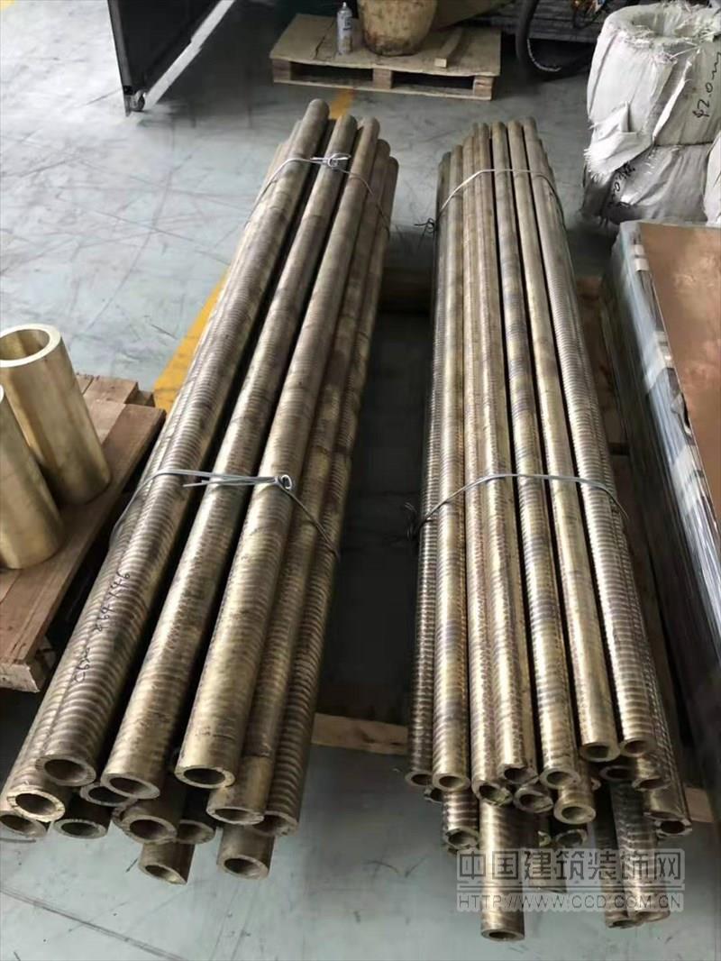 非标环保锡青铜管 厚壁耐磨空心锡青铜管