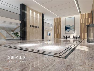 平顶山独栋办公楼装修案例-专业办公楼装修