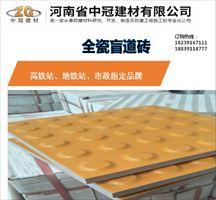 焦作众光盲道砖 颠覆传统材质的盲道砖生产厂家L