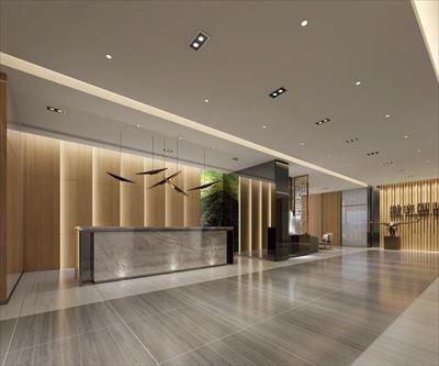 兰州900平米办公室装修效果图