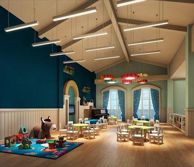 五顏六色幼兒園設計效果圖