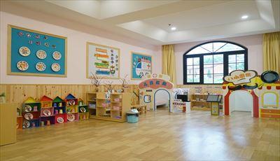 特色國際幼兒園設計實景圖