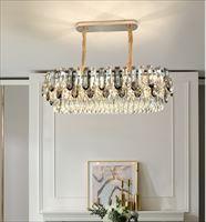 焕冠灯饰后现代轻奢水晶吊灯创意个性客厅灯