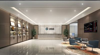 高新时代广场办公室设计效果图