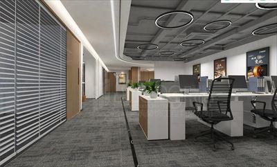 中晶科技广场办公室装修效果图