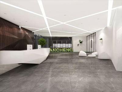 金融公司办公室装修效果图