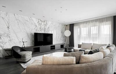 棕櫚泉悅江國際裝修|現代簡約大平層設計圖
