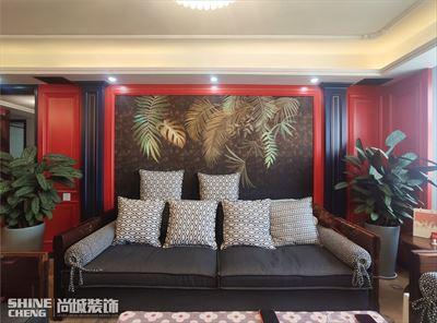 泰安中天·南湖颐心园小区130㎡现代混搭