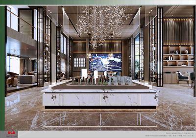 3号loft售楼部装修设计图