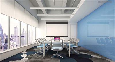 1000平米办公室装修案例