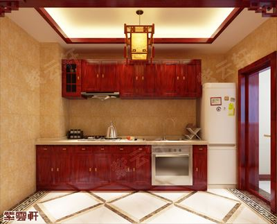 紫云轩中式仿古装潢