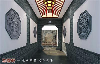 中式紫云轩仿古豪宅装饰