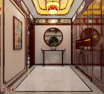 中式紫云轩传统装修案例