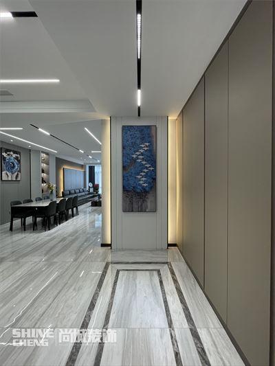 泰安五矿万境水岸400㎡现代风格装修设计