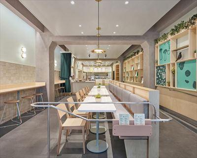 600平米現代中餐廳設計效果圖