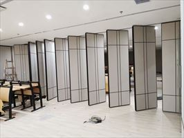 个性造型活动隔墙 折叠门 移动隔音墙