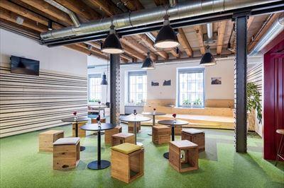 环保公司办公室装修设计案例