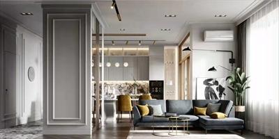 营口楚航中天书香庭院125平3室现代风格